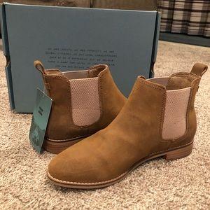 Toms Tan Ella Boots